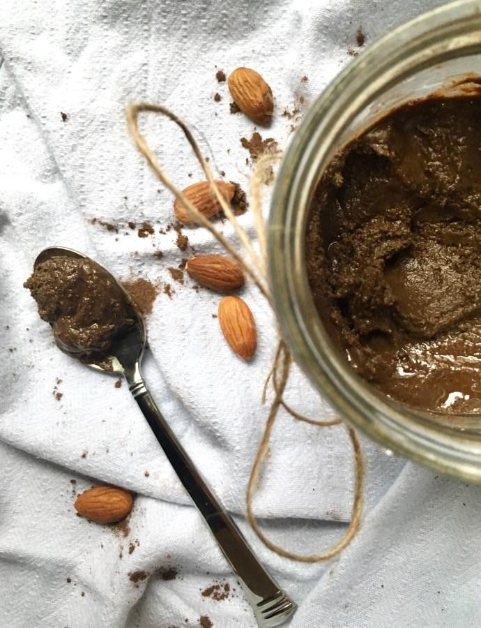Creamy Chocolate Almond Butter