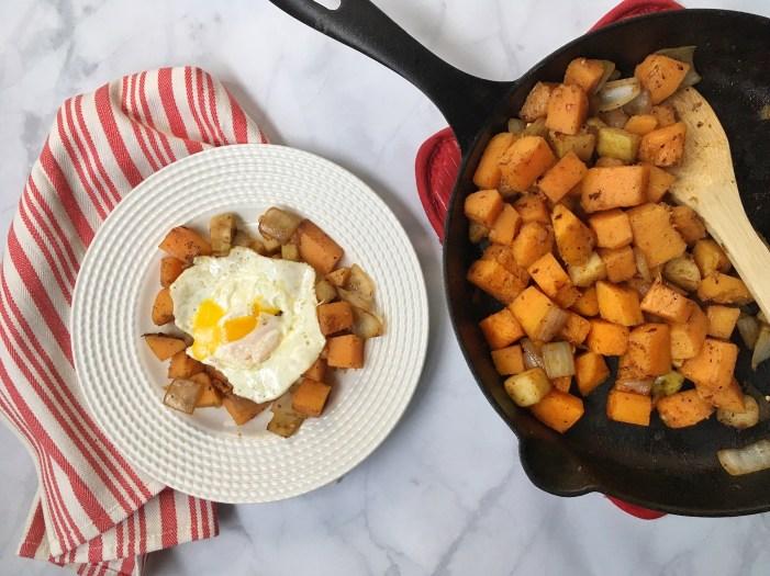 Paleo Butternut & Pear Breakfast Hash (1)