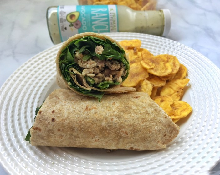 Bacon Ranch Wrap -Paleo, Protein Packed, Gluten Free (2)