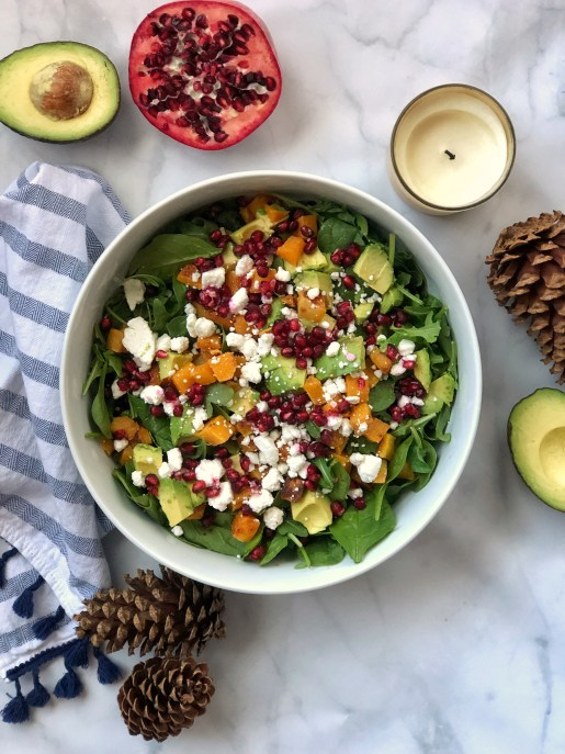 Paleo-Ish Packed Winter Salad