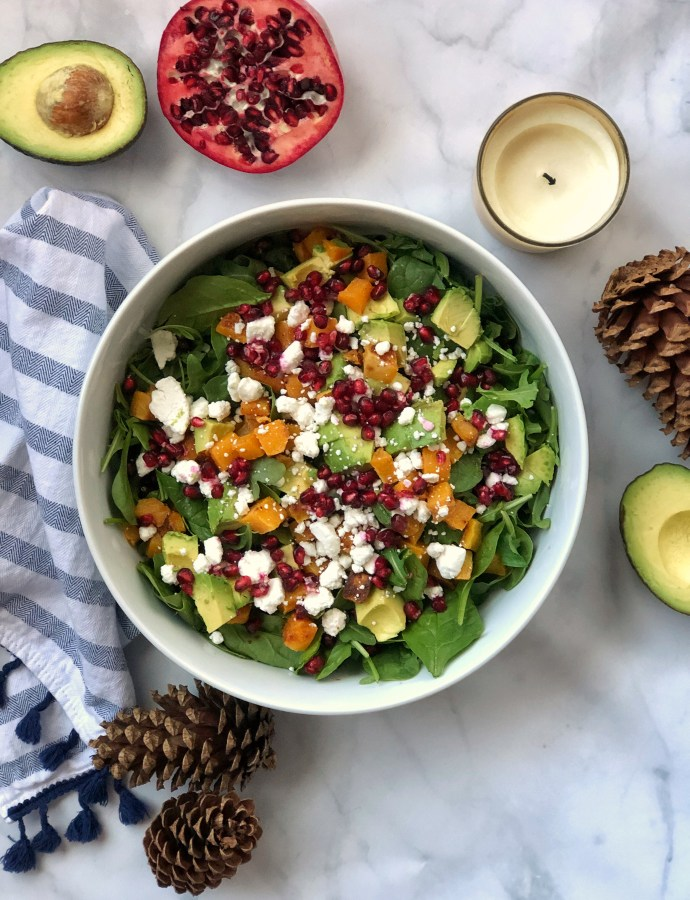 Paleo-ish Packed Winter Salad