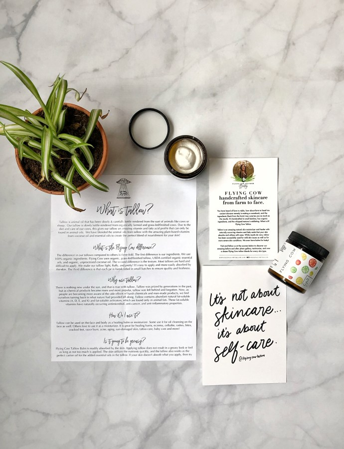 Flying Cow Tallow (+ GIVEAWAY)