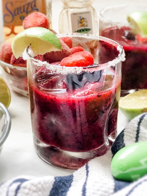 1 Minute Very Berry Margarita