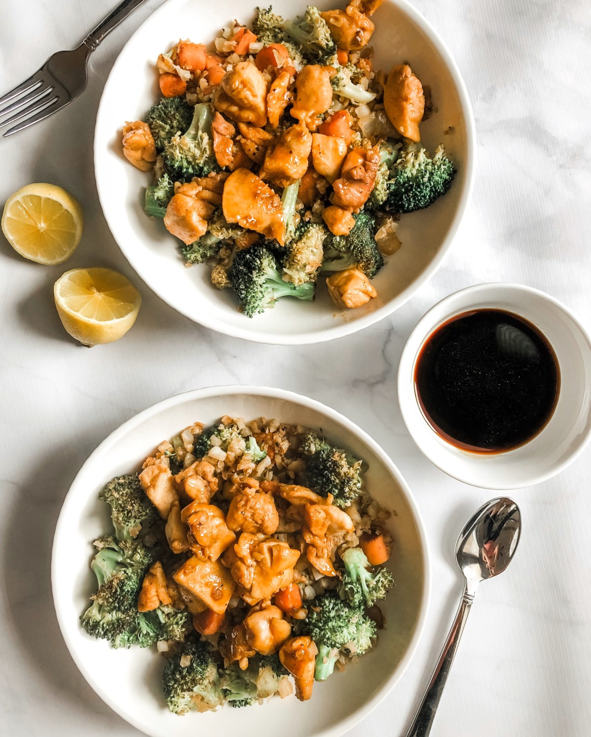Paleo Teriyaki Chicken Stir-Fry