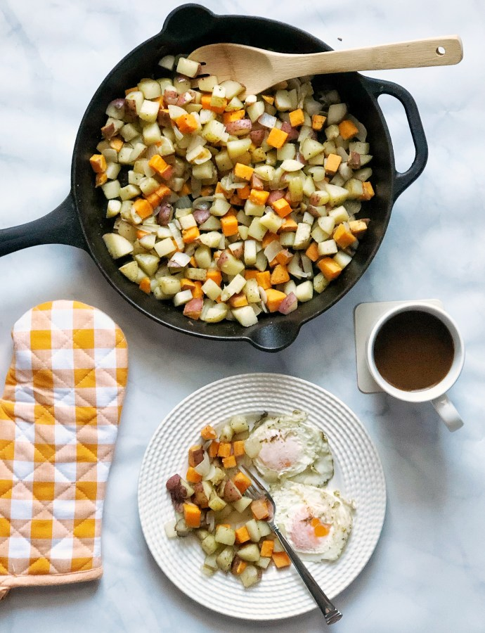 Breakfast Medley Potato Skillet