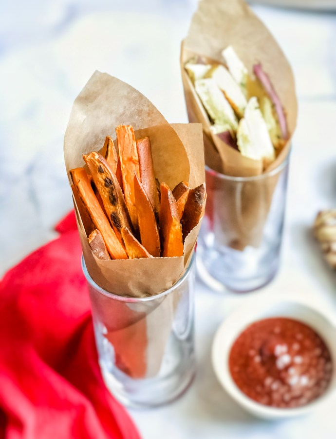 Sweet Potato Fries: 2 Ways