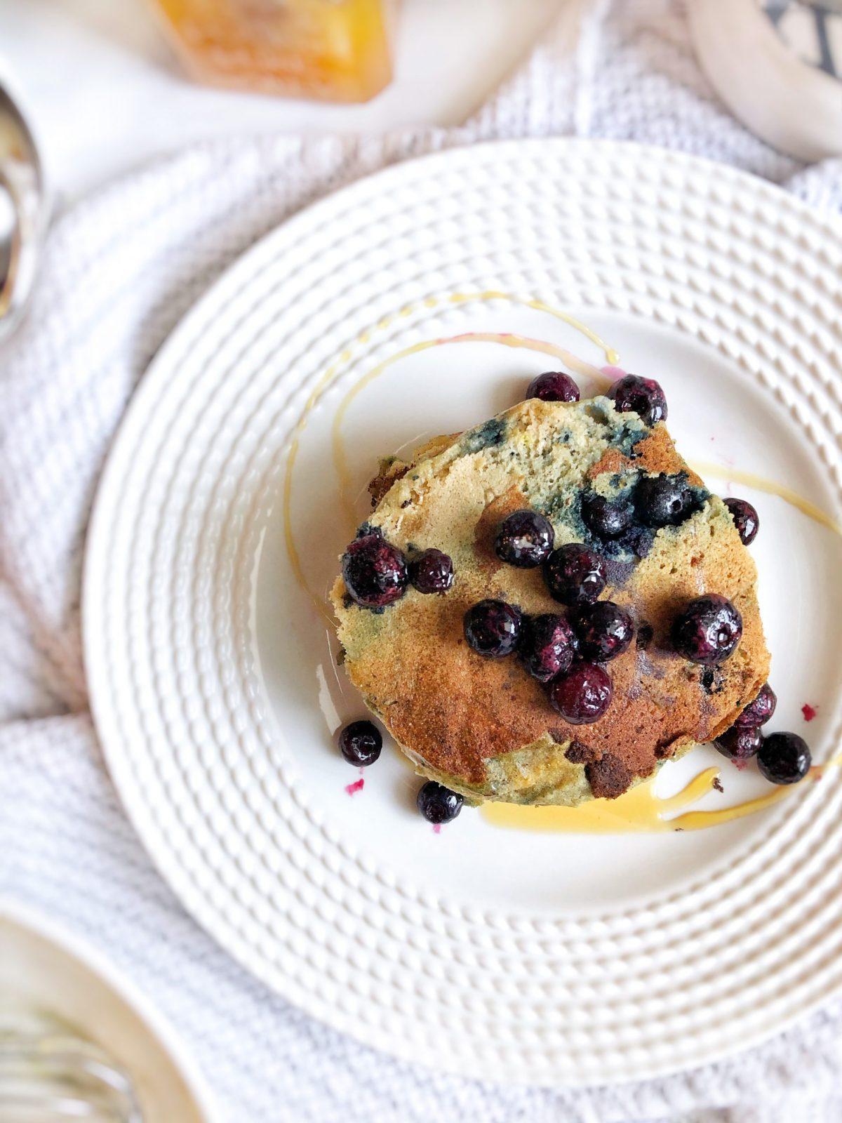 Blueberry Cassava Pancakes 4