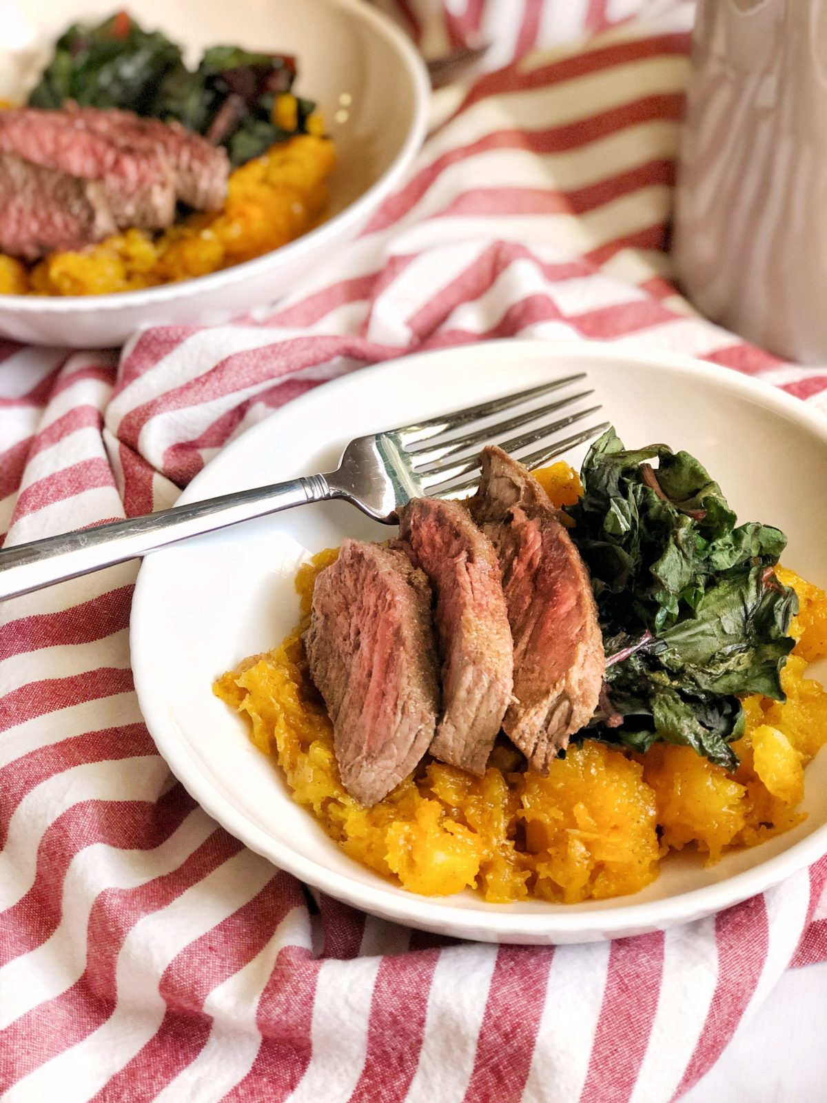 Cast Iron Steak Dinner