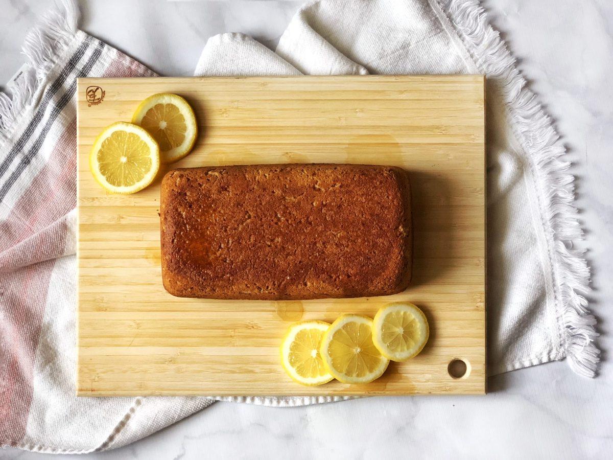 Gluten Free Lemon Loaf (paleo, dairy free, keto)