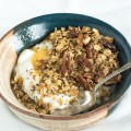 Maple Pecan Granola | NOURISHEDtheblog.com | feature image