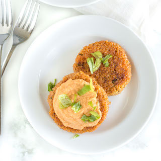 Gluten Free Crispy Quinoa Patties