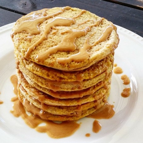 16 Awesome Quinoa Recipe Ideas | nourishedtheblog.com | Peanut Butter Quinoa Protein Pancakes from Natalie @ A Fit Philosophy