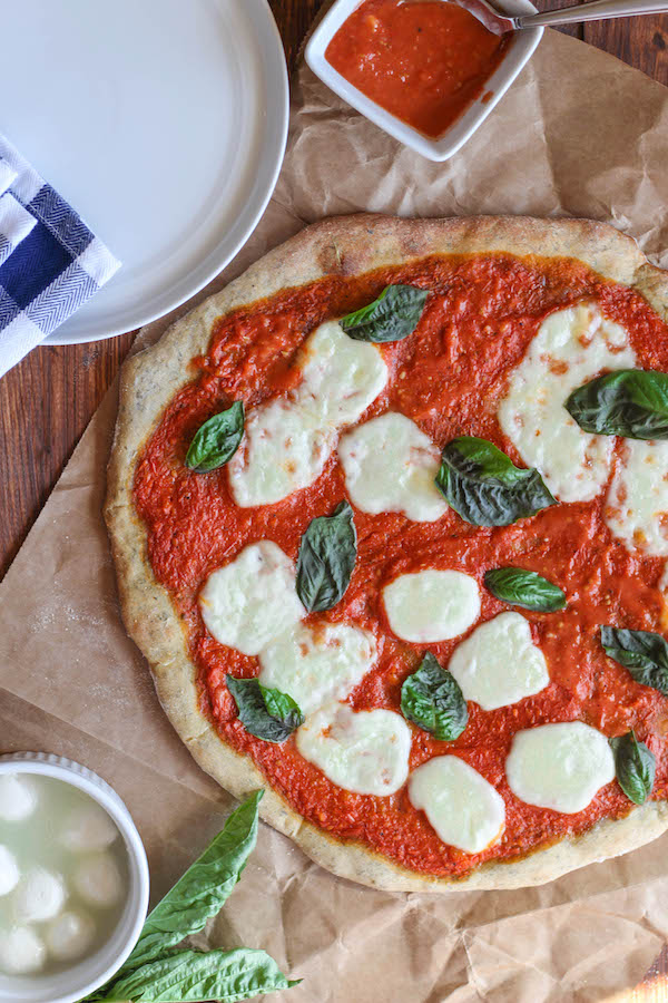 Gilmore Girls Viewing Party: Roasted Tomato Margarita Pizza