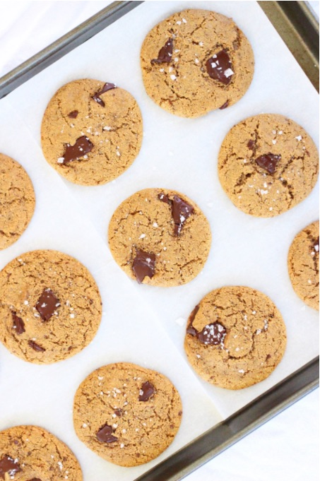 9 Awesome Gluten Free Cookie Recipes | Dark Chocolate Chunk with Sea Salt