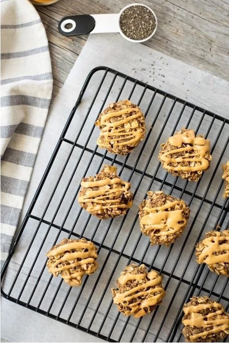 9 Awesome Gluten Free Cookie Recipes | Healthy Apple Peanut Butter Breakfast Cookies