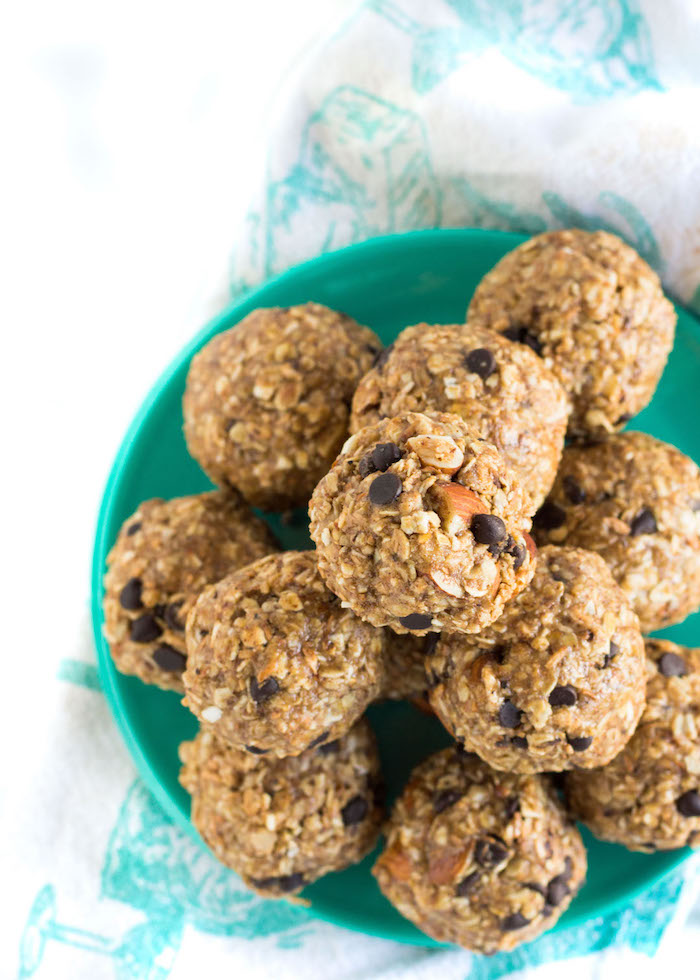 The Top 6 Recipes of 2016   Gluten Free, Vegetarian, Easy to Make recipes   Toasted Coconut Almond Energy Bites