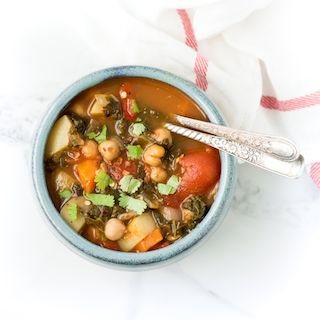 Easy to Make Chickpea Vegetable Soup