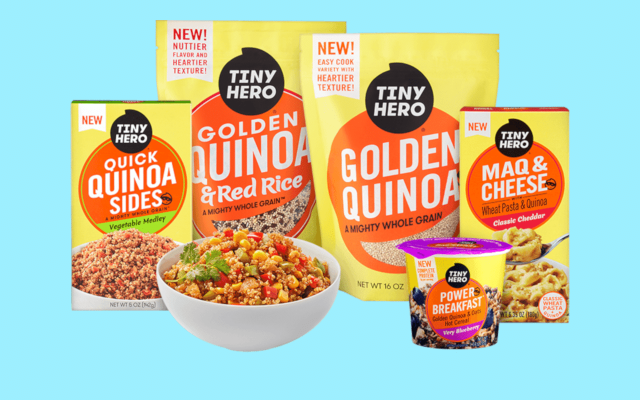 Tiny Hero Project Quinoa Packaging Portfolio Family