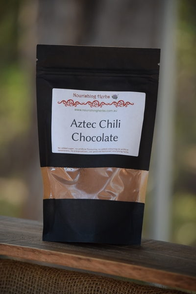 Aztec Chili Chocolate Powder For Making Hot Drink