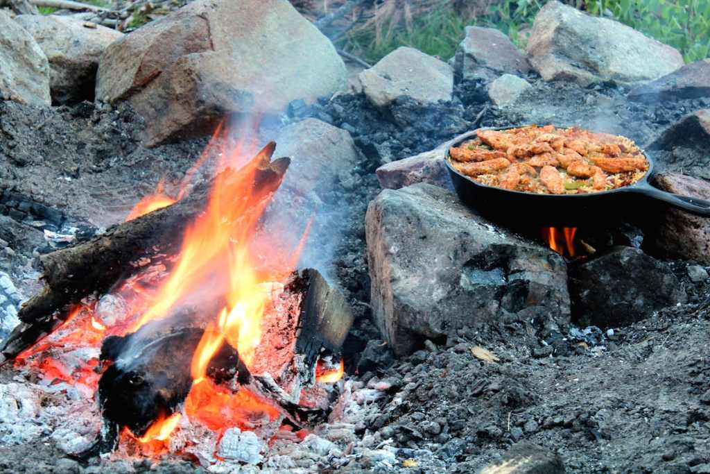 Campfire Paella Recipe | Nourishing Wild