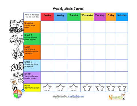 also printable write in meal plan weekly journal rh nourishinteractive