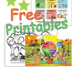 Blank Food Plate Diagram 2003 Saturn Vue Bcm Wiring Free Kids Nutrition Printables Worksheets My Groups