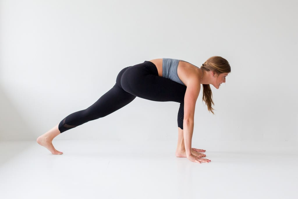 10 morning yoga poses, low lunge --- www.nourishmovelove.com