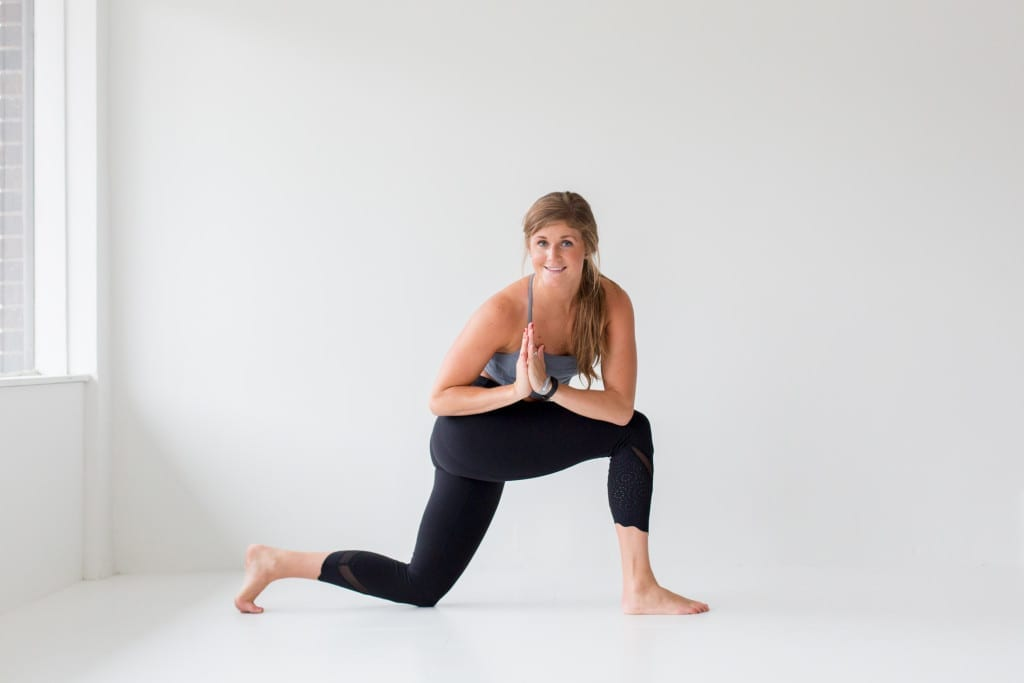 10 morning yoga poses, side twist --- www.nourishmovelove.com