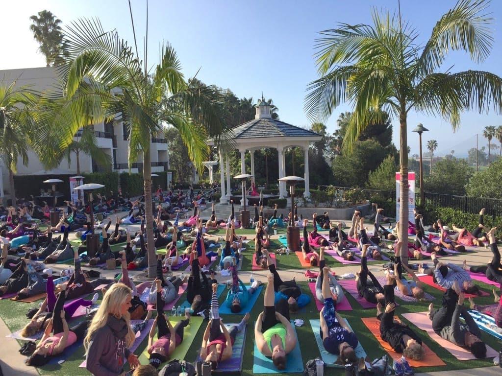 Lori Harder Bliss Project Yoga -- www.nourishmovelove.com