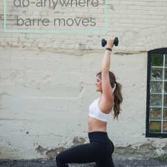 Chair Exercise Justin Timberlake Table With Storage 10 Barre Moves You Can Do Without A Nourish Move Love Www Nourishmovelove Com