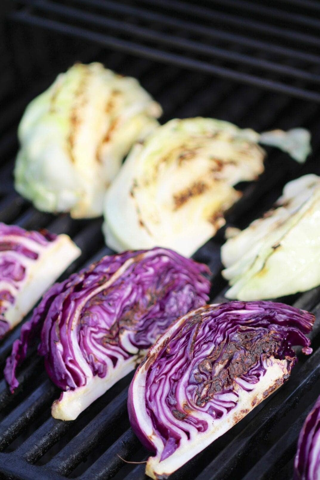 Grilled Cabbage Steaks + Cilantro Dressing | nourish move love