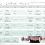 total body, 30-day workout calendar {free at-home workouts + videos}