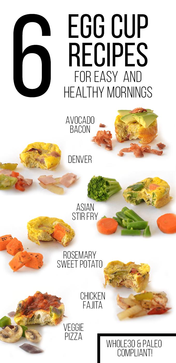 Easy Egg Cups 6 Ways