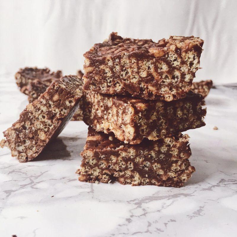 healthy chocolate rice crispy treats recipe