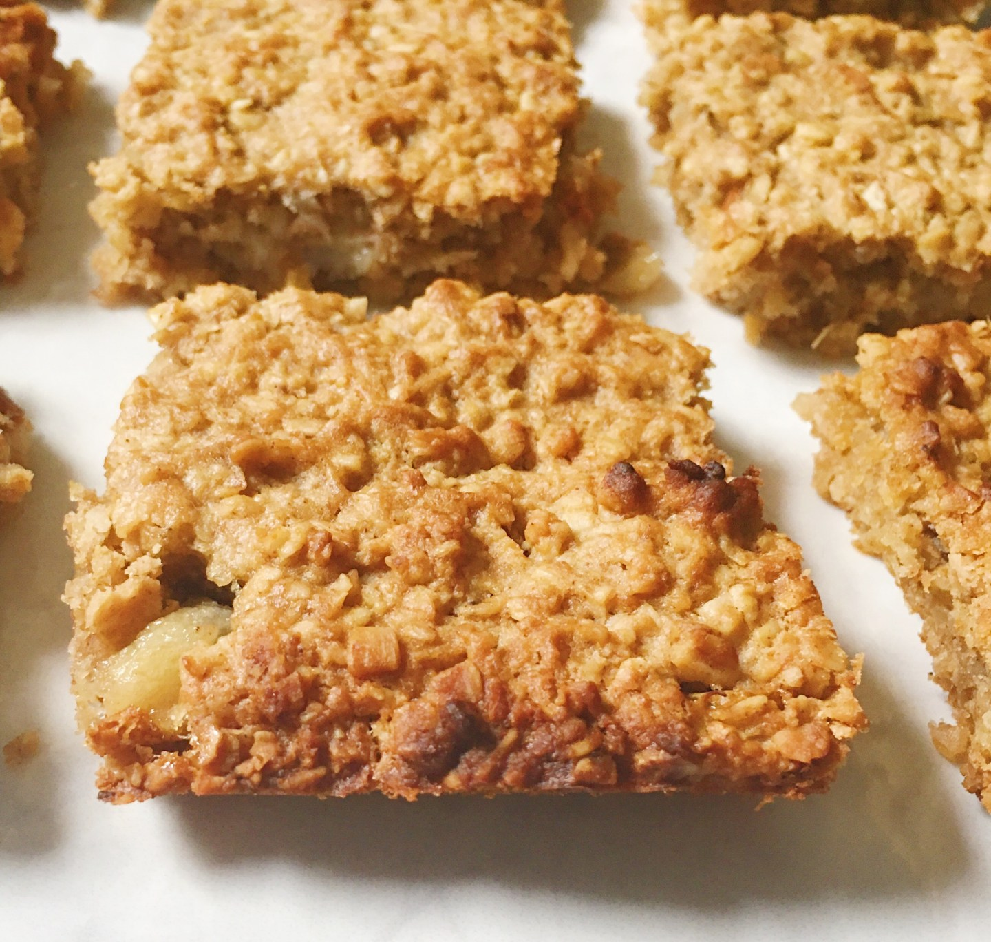 Ginger and Pear Bars - Gluten Free and Vegan