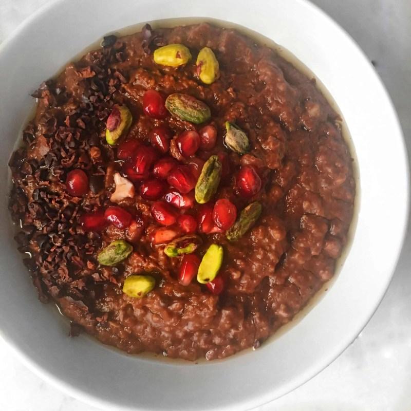double chocolate porridge recipe 2