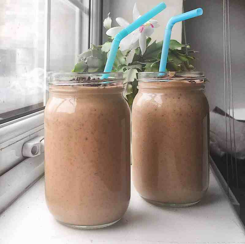 chocolate and peanut butter smoothie recipe