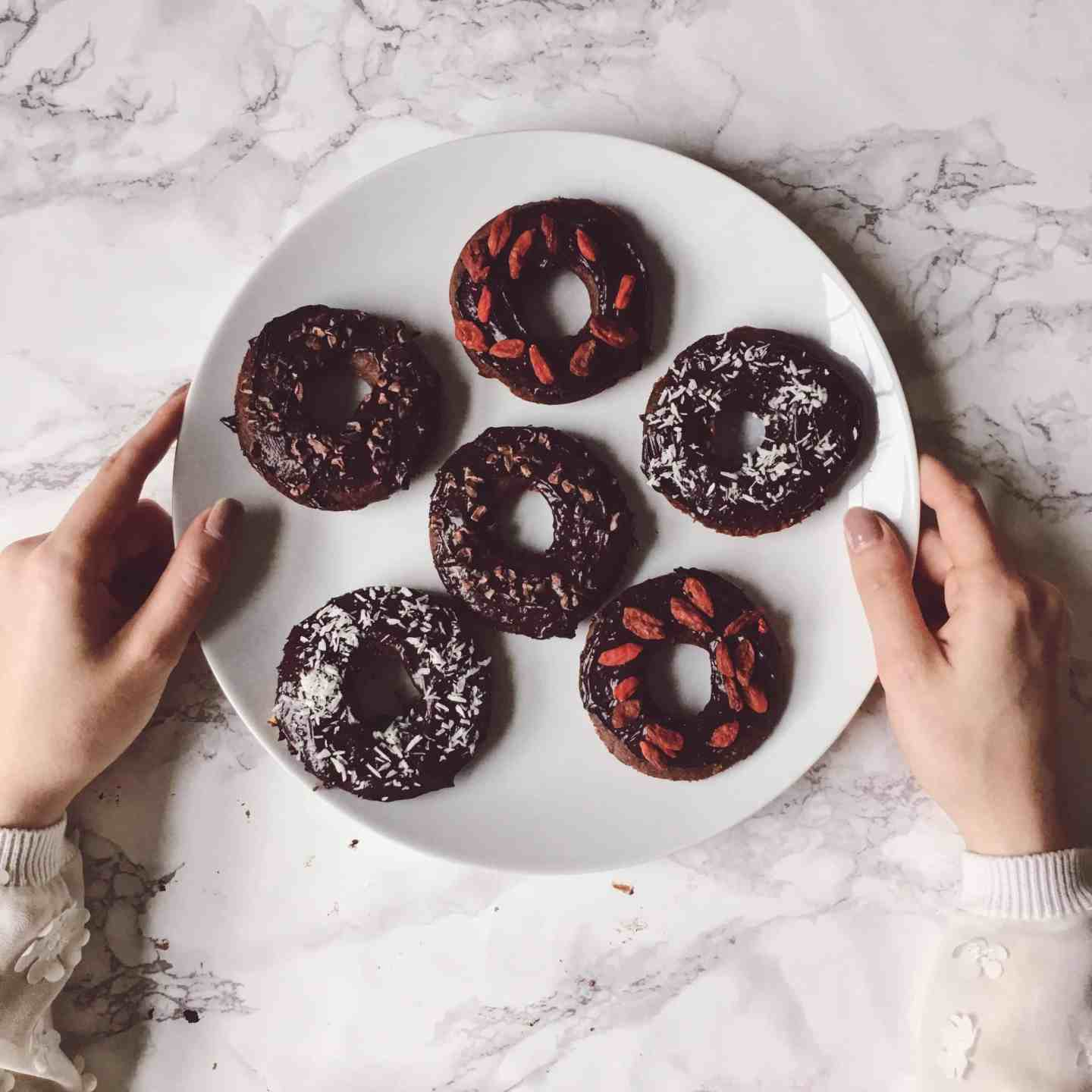 Healthy Chocolate Baked Doughnuts Recipe