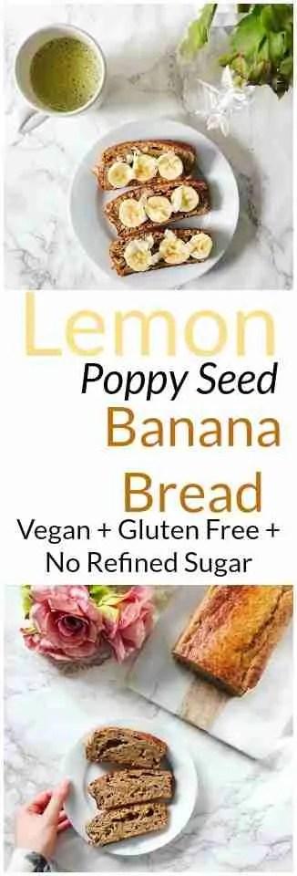 Lemon Poppy Seed Banana Bread Recipe