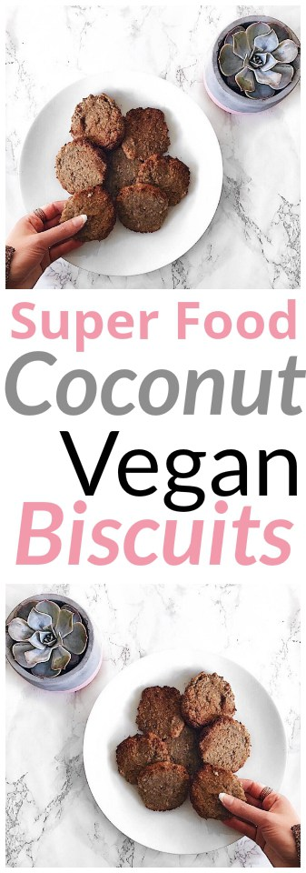 Coconut Vegan Biscuits