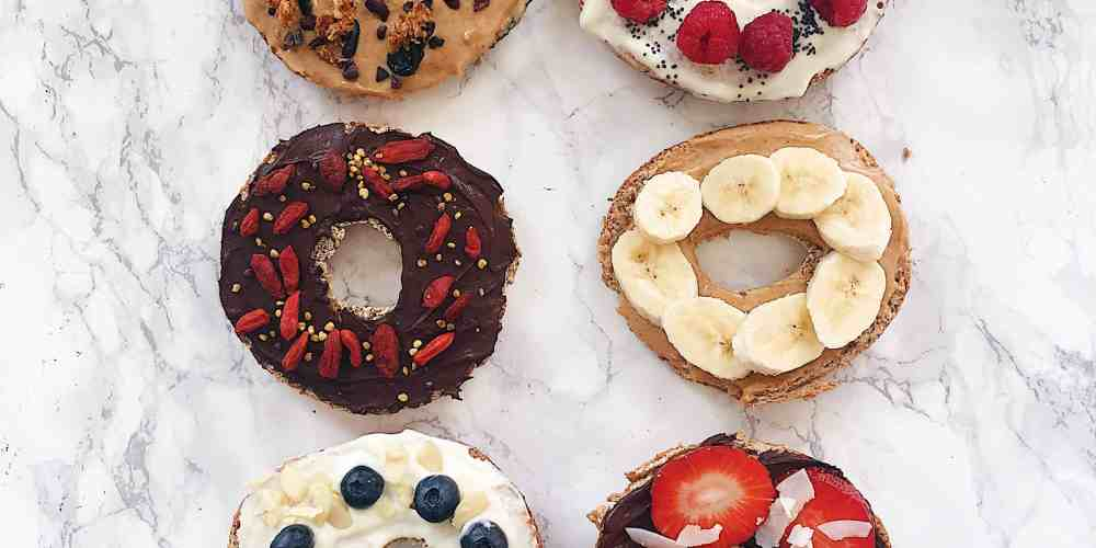 My Favourite Healthy Sweet Bagel Toppings Nourish Your Glow