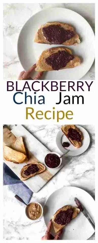 Blackberry Chia Jam Recipe