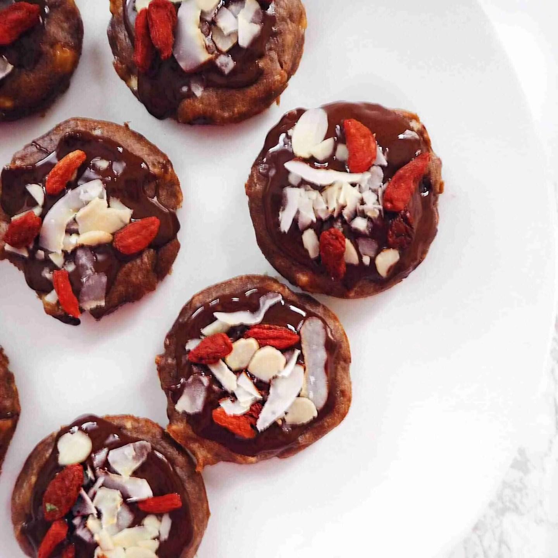 Healthy Vegan Flourless Protein Brownies