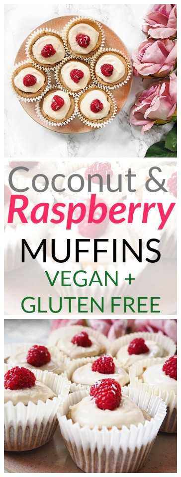 Coconut and Raspberry Muffins Recipe