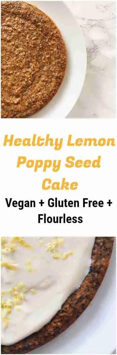 Healthy Lemon Poppy Seed Cake Recipe