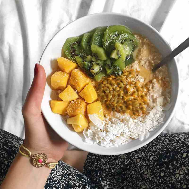 Tropical Coconut Overnight Oats Recipe
