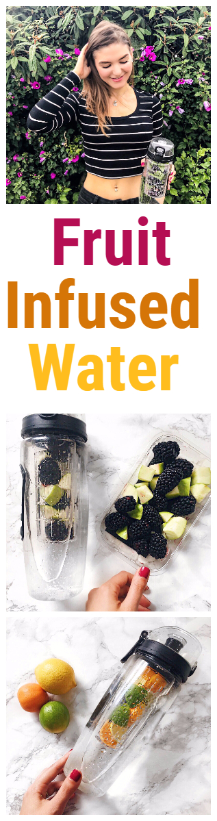 Fruit Infused Water Recipe + Benefits
