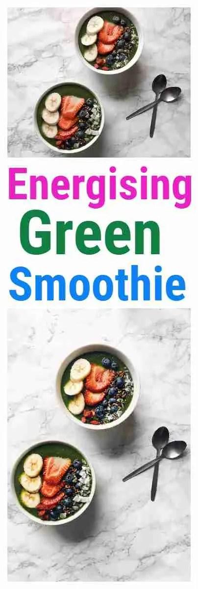 Super Energising Green Smoothie Recipe