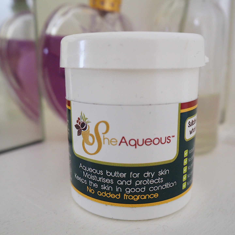 Product Spotlight: Sheaqueous Cream with Organic Shea Butter Review