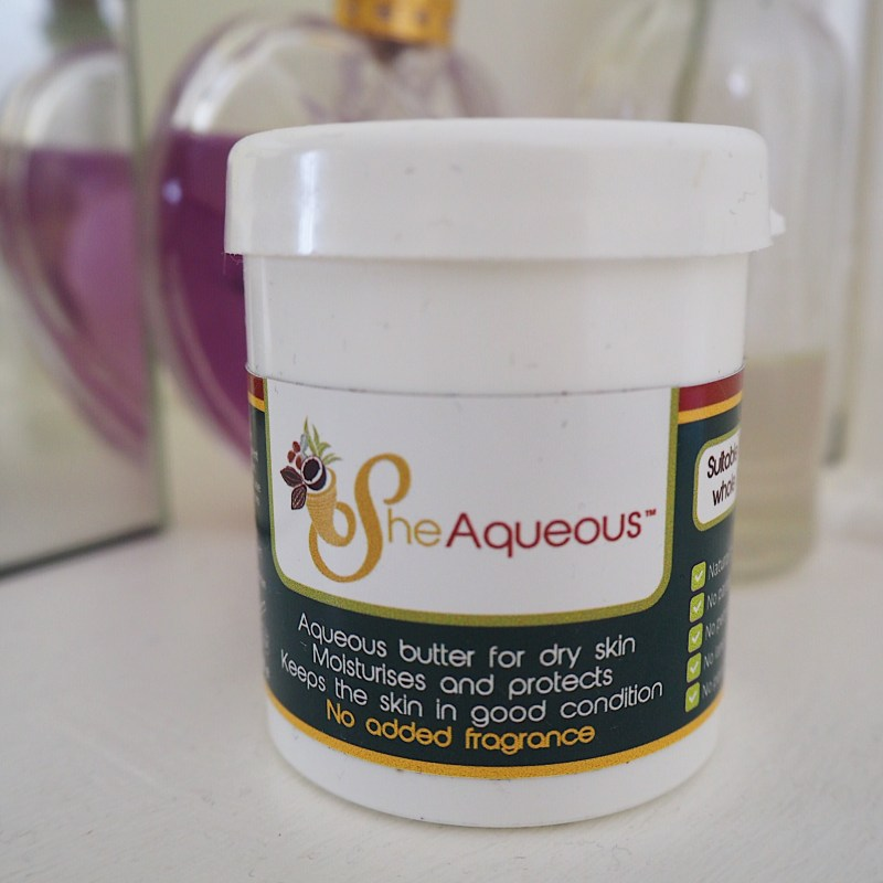 Sheaqueous Cream with Organic Shea Butter Review - Natural Body Butter Review
